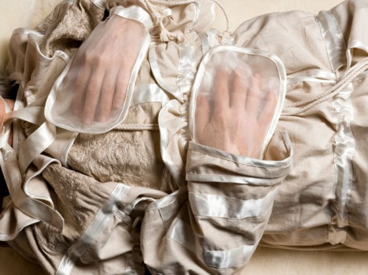 """Pia Interlandi's Biodegradable """"Garments for the Grave"""" Let You Rest in Peace, in Style"""