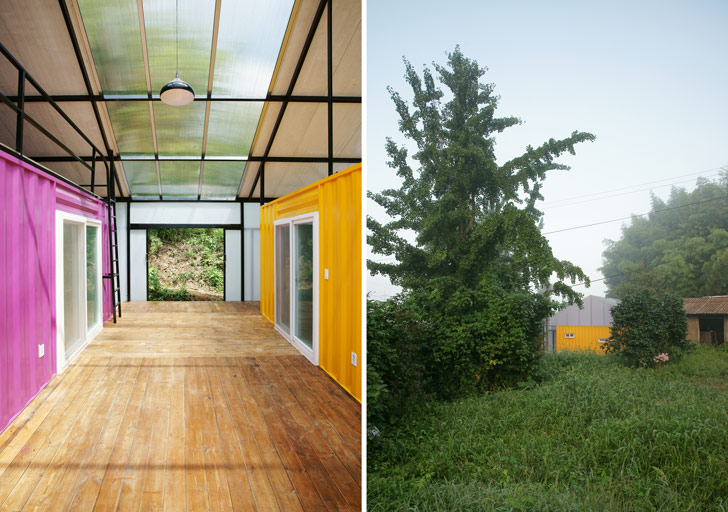 Low cost house by jya rchitects in south korea inhabitat green design innovation - Building a container home costs ...