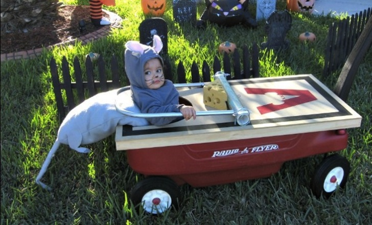 mouse trap kid halloween costume - Homemade Toddler Halloween Costume
