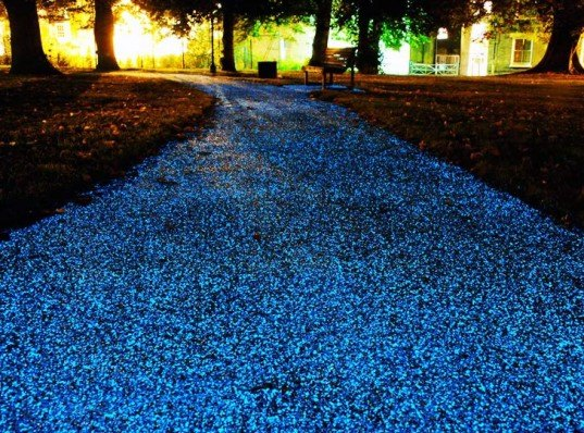 starpath, pro-teq, uk, cambridge, christ's pieces, ambient lighting, pavement, asphalt, glow-in-the-dark, hamish scott, cost-effective, carbon credits, cambridge city council, elastomeric polyeurethane