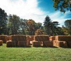 The Woodmere Art Museum Brings a Harry Potter-Inspired Straw Bale Installation to Pennsylvania