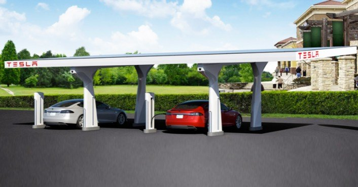 Tesla Completes The West Coast Supercharger Corridor From