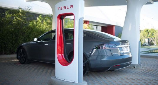 Tesla, Tesla Supercharger Network, Tesla Supercharger Corridor, Tesla Model S, charging stations, electric car, green car, lithium-ion battery, San Diego, Vancouver