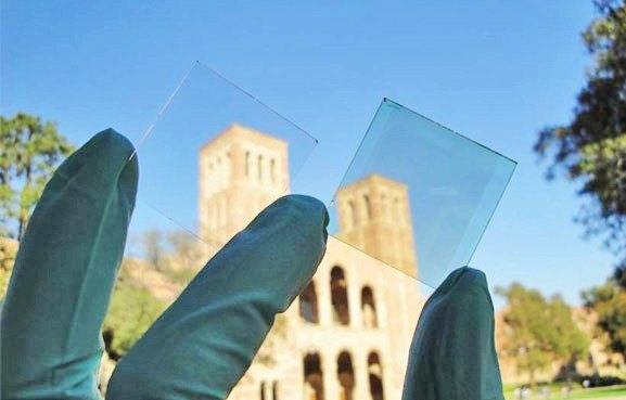 Transparent Solar Cell Inhabitat Green Design