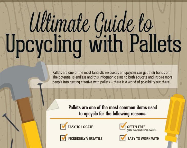 Infographic: The Ultimate Guide to Upcycling With Pallets