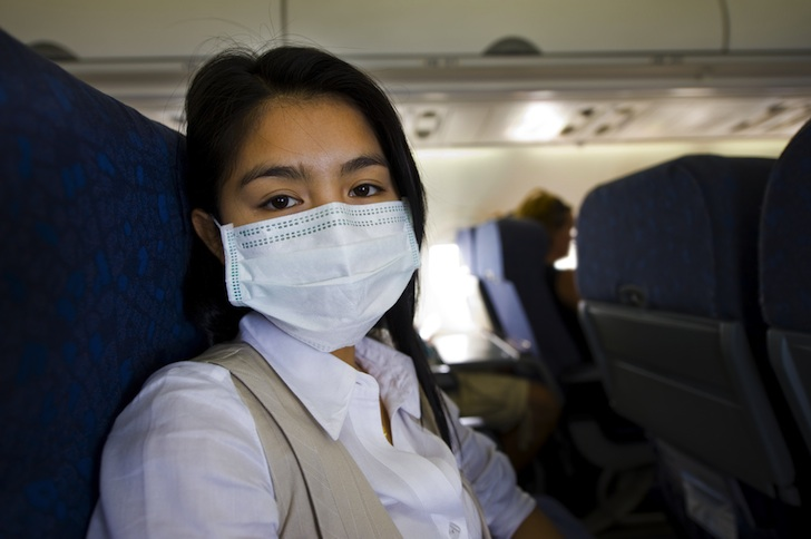Rose-Like Nano Coating Could Keep Airborne Viruses Out of Planes