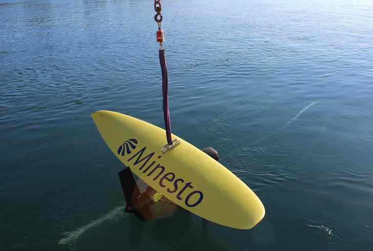 """Minesto Unveils """"Underwater Kite"""" That Harvests Clean Energy From Ocean Currents"""