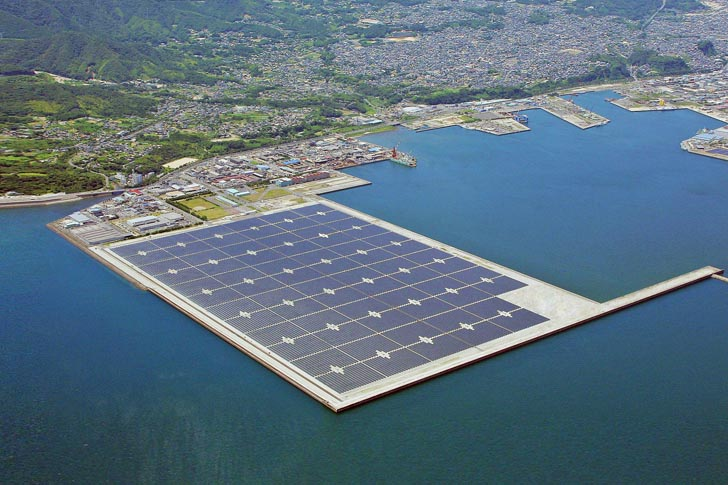 Kyocera Opens Japan's Largest Offshore Solar Power Plant