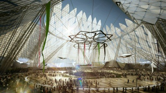 dubai, world expo 2020, photovoltaic panels, light display, green energy, solar power, sunshade, green design, sustainable design, green architecture