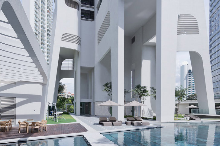 Unstudio Completes Organic Ardmore Residence In Singapore