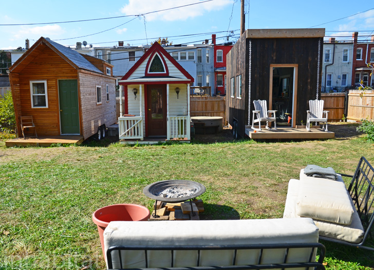 Photos: Whole Village Of Tiny Houses Makes Boneyard Studios A