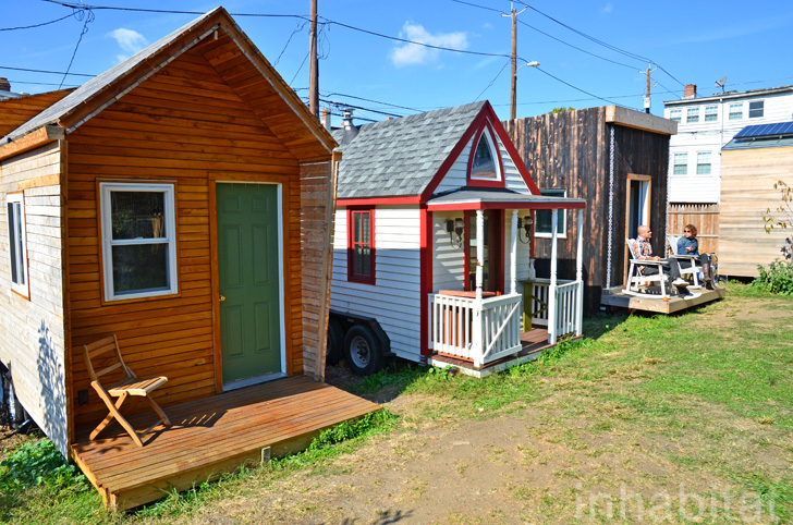 PHOTOS: Whole Village of Tiny Houses Makes Boneyard Studios a Unique Urban Retreat