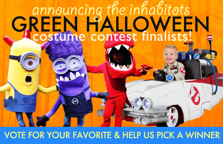 Vote For Your Favorite Inhabitots Green Halloween Costume!