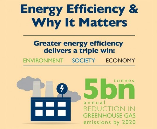 Infographic: Energy Efficiency and Why it Matters