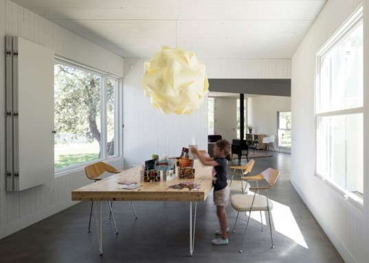 FRPO, FRPO Architects, MO House, Rodriguez & Oriol Architecture, Spanish landscape, cross-laminated wood, timber panels, white-painted timber, timber house, single-family home, site-specific architecture,