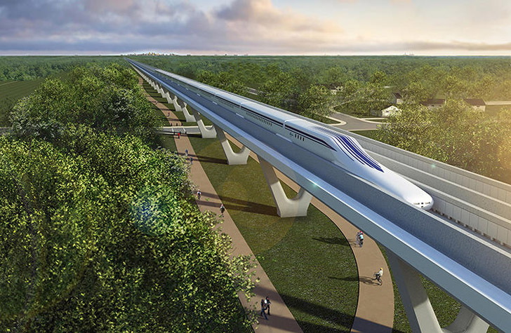 300 MPH Maglev Train Could Carry Passengers From Washington D.C. To New York in 60 Minutes