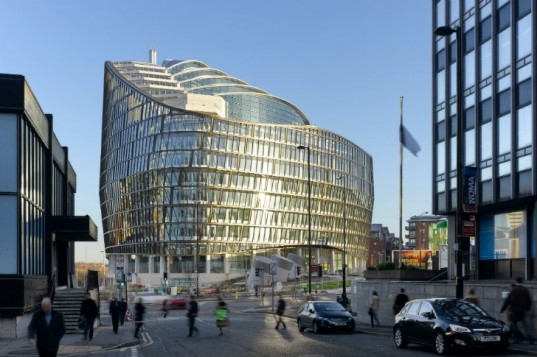 One Angel Square, 3DReid, manchester, breeam outstanding, eco office, energy efficient design, uk