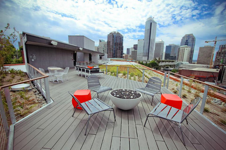 Pine Minor, Perkins Will, Seattle, Eco Apartments, Sustainable Apartments,  Leed Platinum