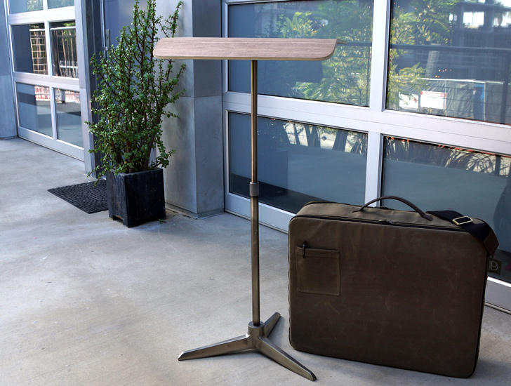 Plunk Desk A Lightweight Foldable Standing Desk Perfect for