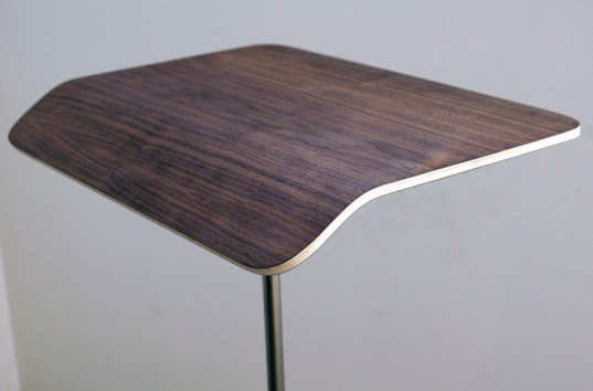 plunk desk, standing desk, lightweight desk, sustainable design, green design, portable desks, mobile desks, handmade furniture