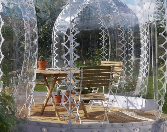 SHJWORKS, Simon Hjermind Jensen, pop up, pop up greenhouse, urban renewal, Invisible Garden House, UV-resistant polycarbonate, greenhouses, modular greenhouse, pop up pods