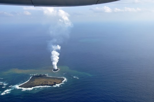 Underwater Volcanic Eruption Creates a New Island in the ... Pacific Ocean Underwater Volcanoes