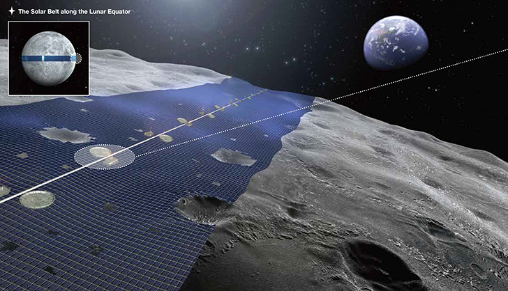 Crazy 'Luna Ring' Moon Solar Plant Could Beam Constant Green Energy to Earth