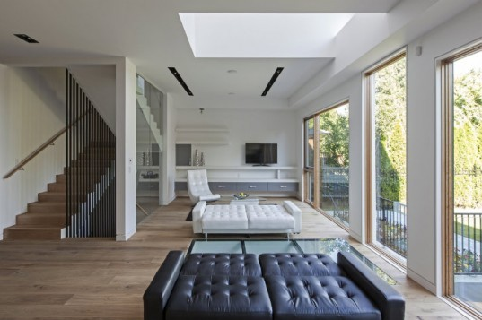 tetris house, tetris, rzlbd, toronto, daylighting, green home, eco home, space efficient design