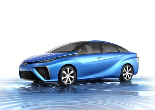 Toyota, Toyota FCV Concept, Toyota fuel cell vehicle, 2013 Tokyo Motor Show, hydrogen, fuel cell car, hydrogen powered car, green car, electricity