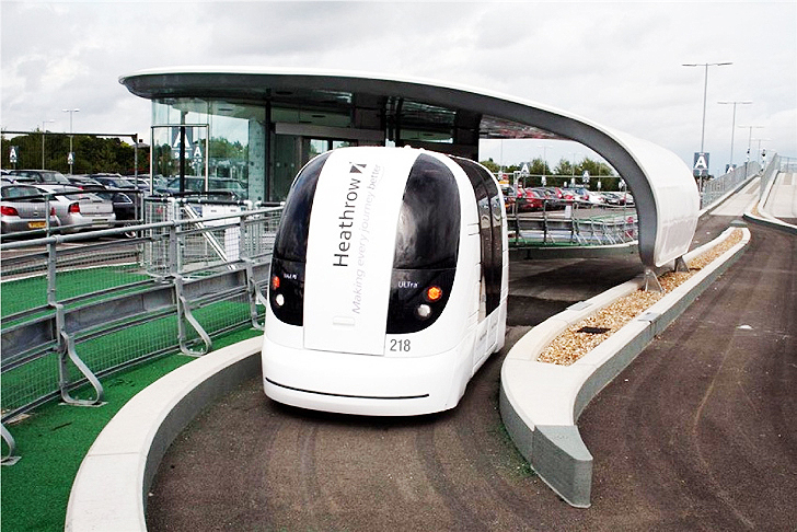 100 Self-Driving ULTra Personal Electric Transportation Pods to be Installed Near London