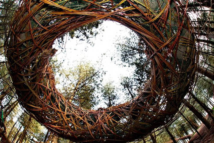 Will Beckers Natural Willow Sculptures 171 Inhabitat