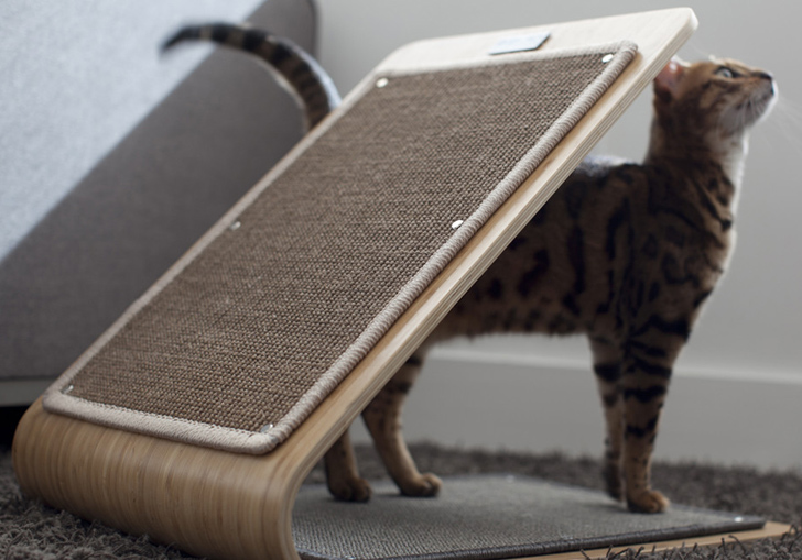 Architect Furniture architect pets makes modernist doggy daybeds and scratching posts