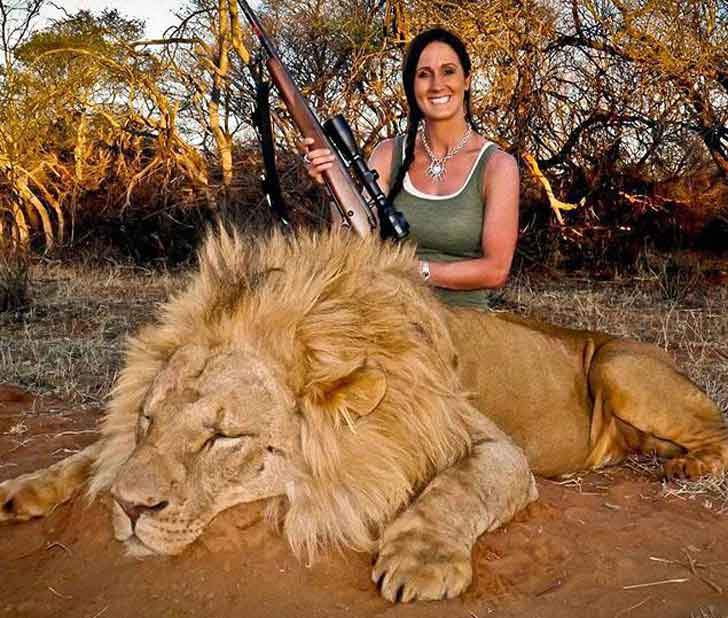 American TV Host Kills Lion, Enrages South African Public