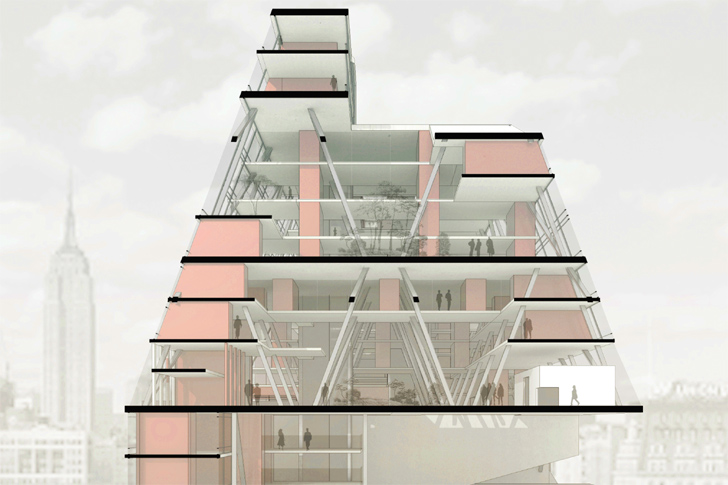 Apartment Building Design Concepts micro-housing concept transforms wasted space into tiny apartments