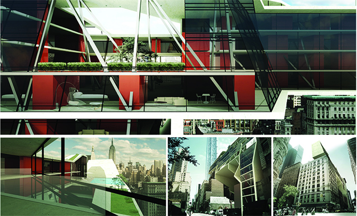 Donghyun Kim's Micro-Housing Concept Aims to Turn Wasted Space into Tiny Apartments