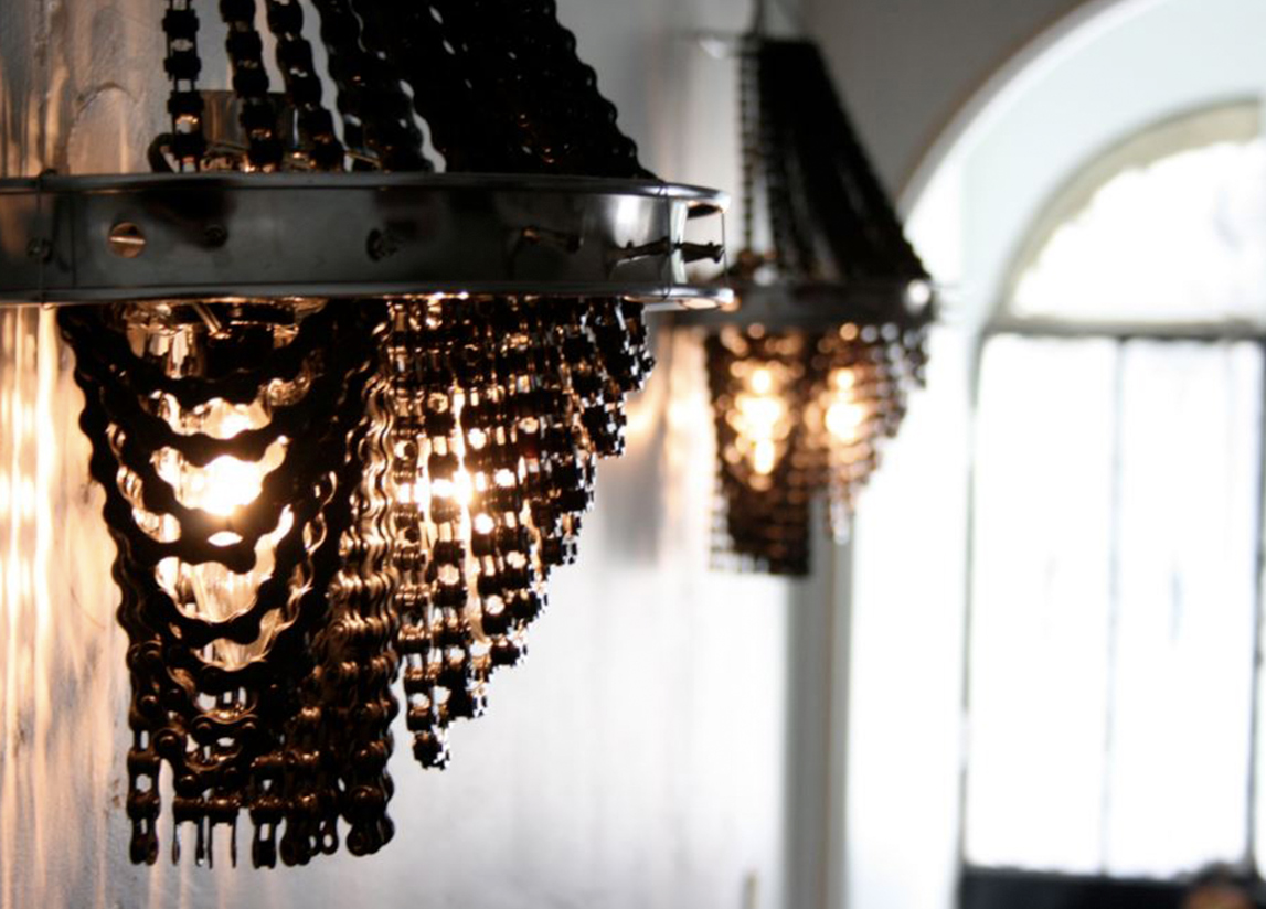 L.A. Artist Handcrafts Luxurious Chandeliers Entirely From ...