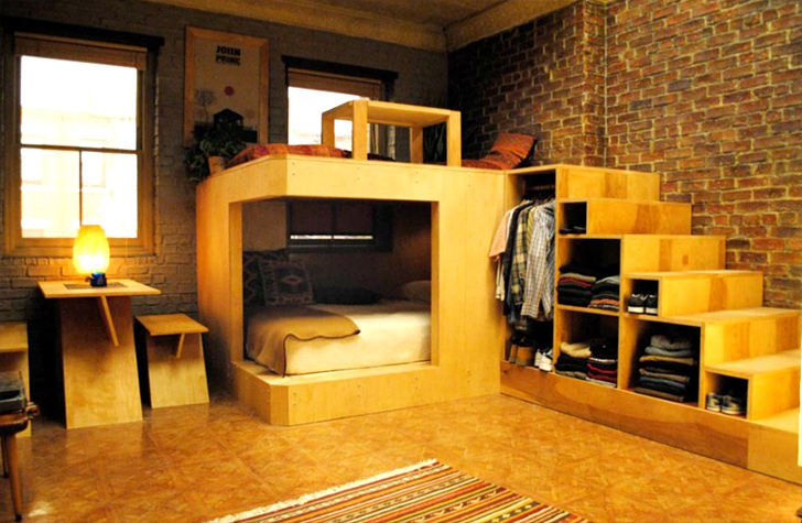 Cool Studio Apartments this studio apartment from hbo's girls may be the coolest tiny