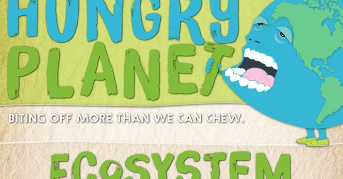 Hungry Planet Infographic Shows How Much Food and Energy Humans