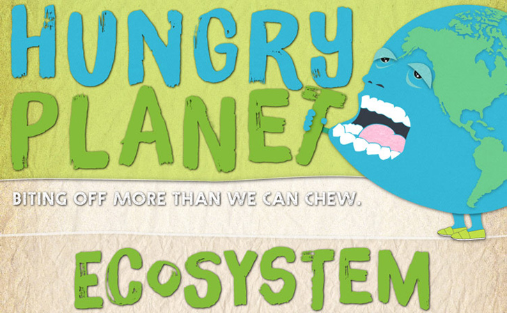 Hungry Planet Infographic Shows How Much Food and Energy Humans Consume Around the World