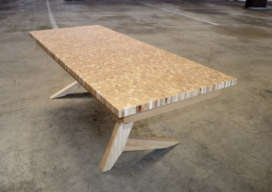 Reply Turns Plywood Scraps Into Unique Modern Furniture