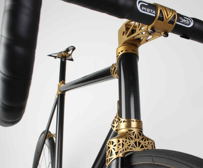 Ralf Holleis Unveils Ultralight Custom Track Bike With 3D Printed ...