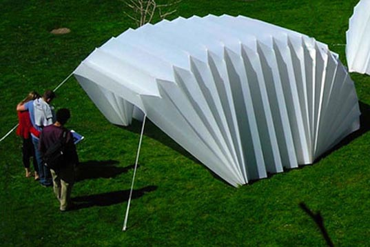 Temporary Car Shelter : Innovative emergency shelters for when disaster strikes