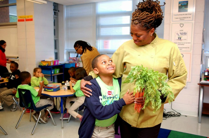 Revolution Foods Launch 'Grow Food. Give Food.' Campaign to Transform America's School Meals