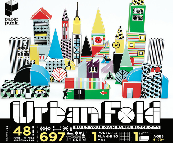 Build Your Own Origami City With Paper Punks New URBAN FOLD Box Set