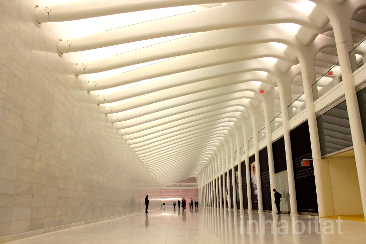 See the First Section of the World Trade Center Transportation Hub to Open to the Public (PHOTOS)