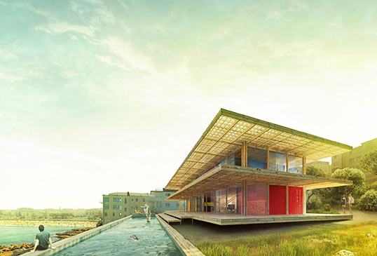 Ales Javurek Wins First Place in Shipping Container Vacation House Competition