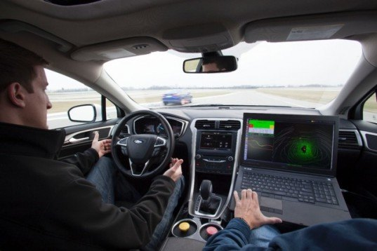 Ford, Ford Fusion, autonomous vehicle, Ford Fusion autonomous vehicle, University of Michigan, State Farm, car technology, car safety, vehicle technology, car technology