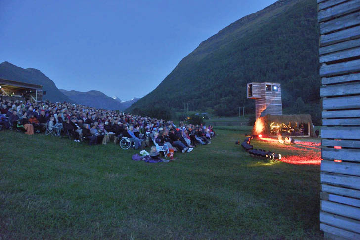 Norway S Stunning Klemet Environmental Theater Is Made