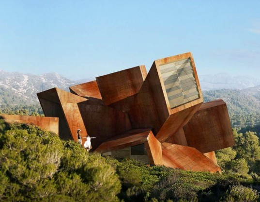 green design, eco design, sustainable design, Didier Faustino, Solo Houses, Christian Bourdais, MAtarrana Spain, Mesarchitectures