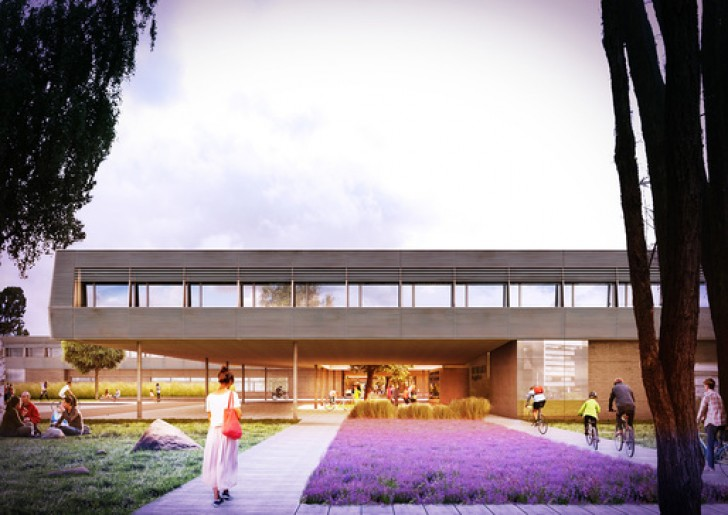 Bramberger Architects Win Competition to Design Sophisticated High